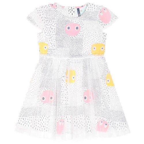 Платье crockid размер 80, смайлики на сахаре