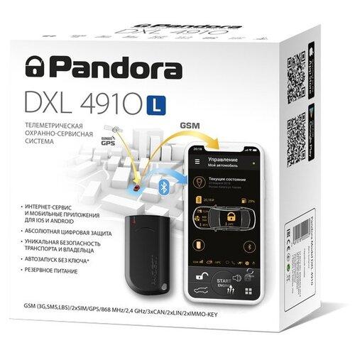 Автосигнализация Pandora DXL 4910L автосигнализация pandora lx 3030