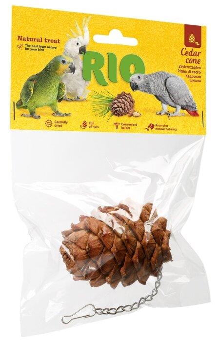 Лакомство для птиц RIO кедровая шишка