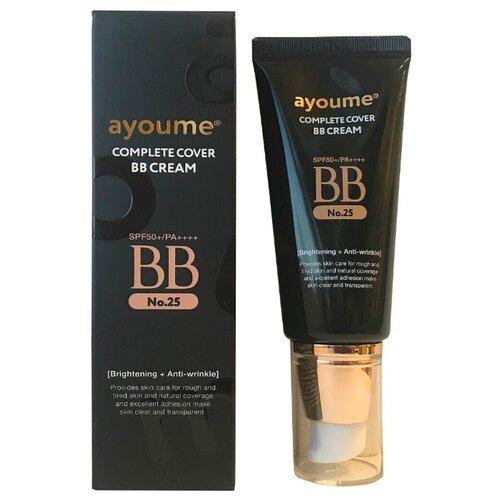Ayoume BB крем Complete Cover, SPF 50, 50 мл, оттенок: 25 macchiato beige lanopearl bb крем 5 в 1 spf 15 50 мл оттенок 1 pink beige