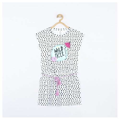 Платье COCCODRILLO размер 92, белый