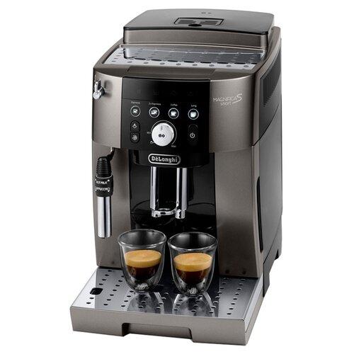 Кофемашина De'Longhi Magnifica Smart ECAM 250.33 S титановый кофемашина de longhi magnifica s ecam 21 117 серебристый черный