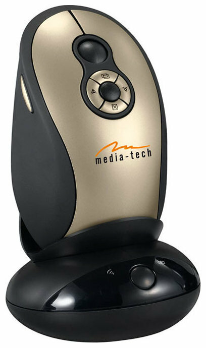 Мышь Media-Tech MT1040 Gold-Black USB
