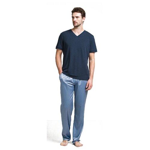 Пижама Laete размер L(50) синий меланж цена 2017