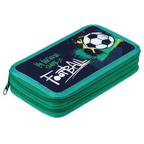 Купить ArtSpace Пенал Football (ПТ2_29126) зеленый, Пеналы