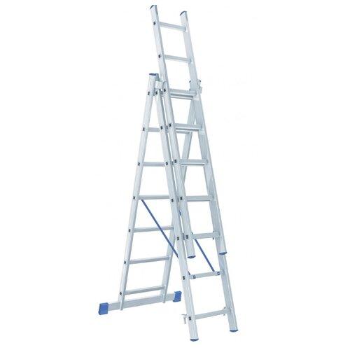 Лестница трансформер 3-секционная Сибртех 97817 фото