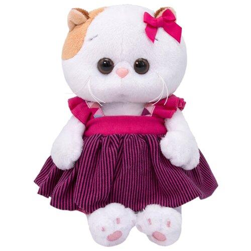 Купить Мягкая игрушка Basik&Co Кошка Ли-Ли baby в сарафане 20 см, Мягкие игрушки