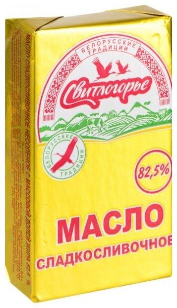 Свитлогорье Масло сладко-сливочное 82.5%, 180 г