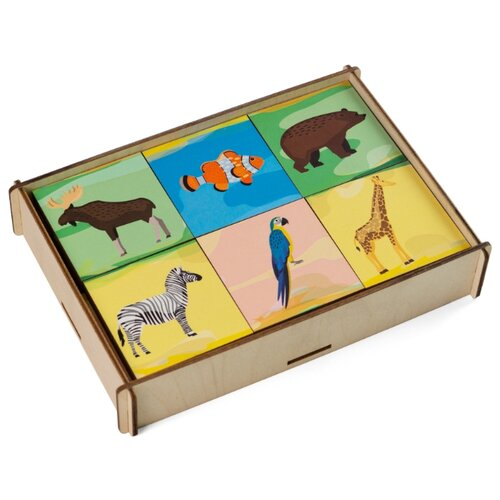 Настольная игра Сибирские игрушки Мемори Животные
