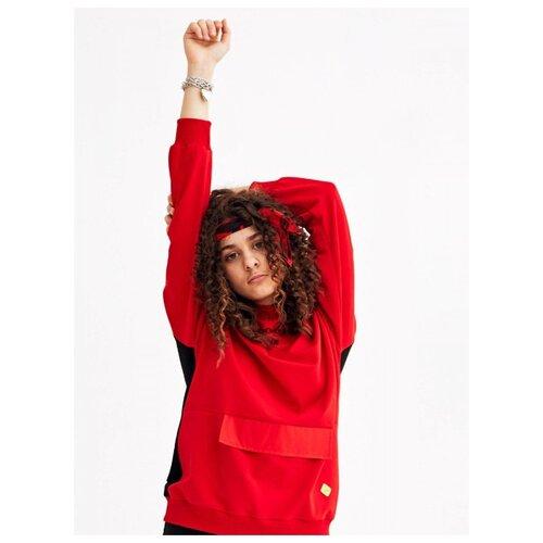 Купить Свитшот Nota Bene размер 158, красный, Толстовки