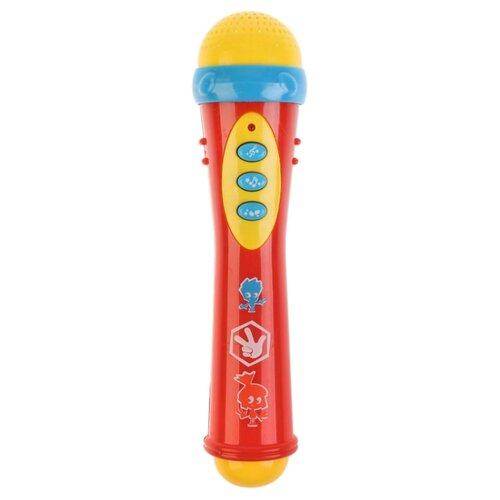 Купить Умка микрофон Фиксики B1082812-R12 красный, Детские музыкальные инструменты