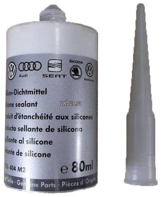 Универсальный силиконовый герметик для ремонта автомобиля VOLKSWAGEN d 176404m2, 80 мл