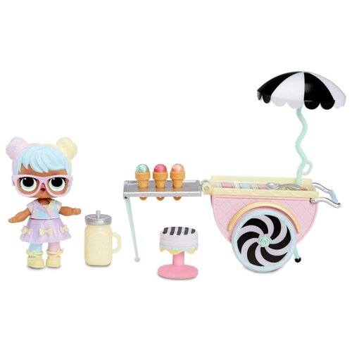 Игровой набор L.O.L. Surprise Furniture Ice Cream Pop-Up with Bon, 564911 игрушка pop pop hair surprise в ассорт 561873