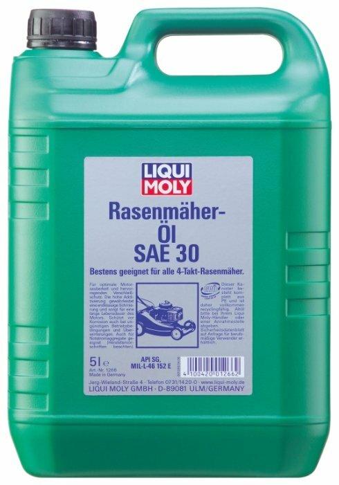 Масло для садовой техники LIQUI MOLY Rasenmaher-Oil 30 5 л