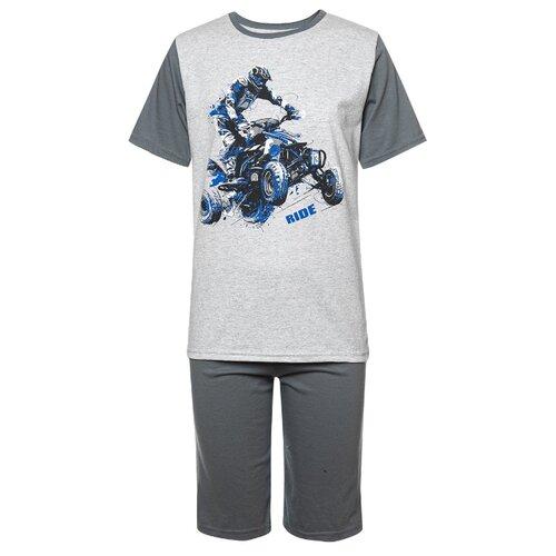 Купить Комплект одежды M&D размер 116, серый, Комплекты и форма