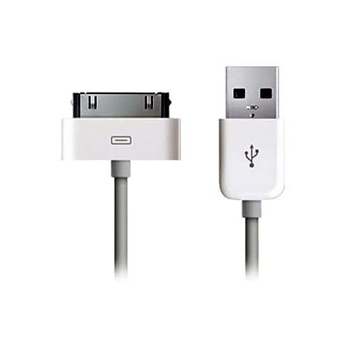 Кабель Atcom USB - Apple 30 pin (AT1206) белый