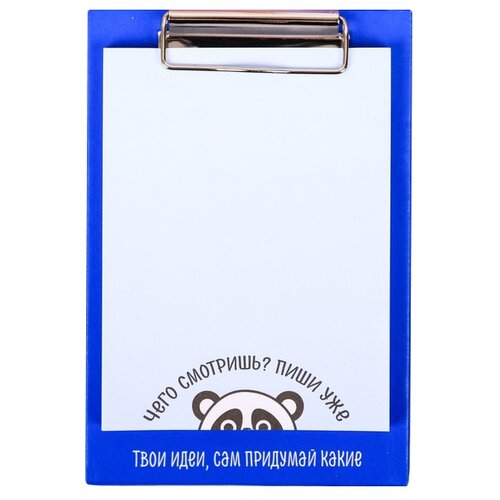 ArtFox блок с липким краем на планшете Панда (4050074) белый/синий