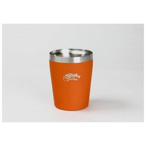 Термостакан металлический Tramp, 250 мл (оранжевый)