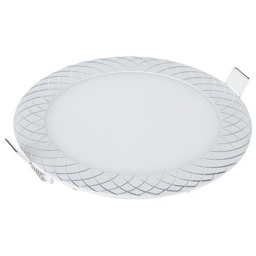 Встраиваемый светильник Elektrostandard DLR005 12W 4200K WH встраиваемый светодиодный светильник elektrostandard dlr006 12w 4200k ps n 4690389084782