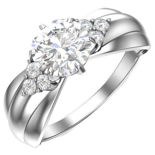 FJ Кольцо с 7 фианитами из серебра A1100937-00775, размер 15.5 фото