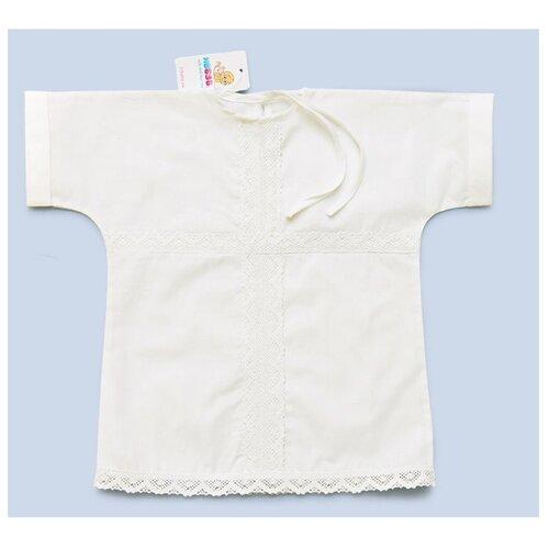 Рубашка ИвБэби размер 68, белый