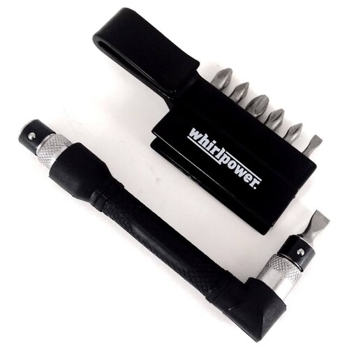 Фото - Отвёртка со сменными битами WhirlPower 96-6108, 8 предм., черный отвёртка со сменными битами whirlpower 96 6108 8 предм черный