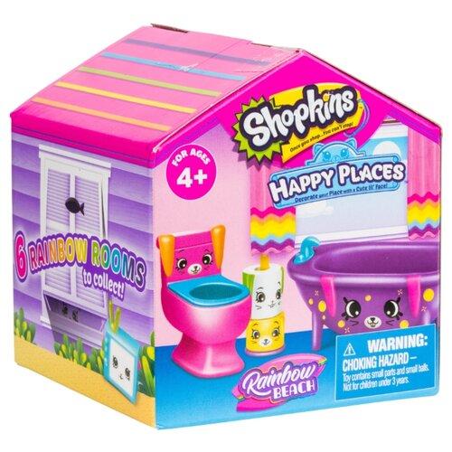 Купить Игровой набор Moose Shopkins Happy Places - Радужные комнаты 56982, Игровые наборы и фигурки