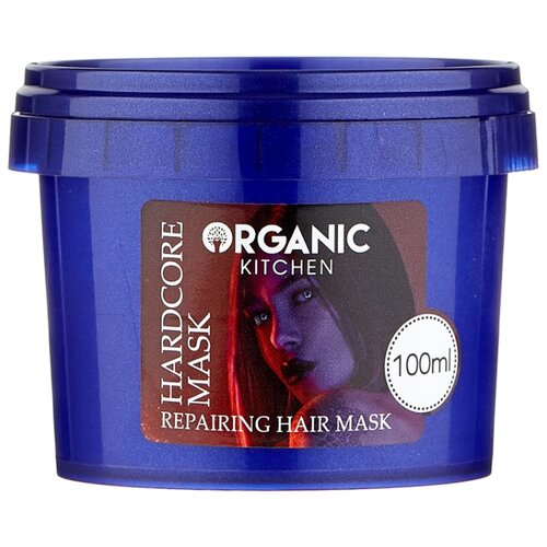 Фото - Organic Kitchen Bloggers Маска-уход для поврежденных волос Восстанавливающая Hardcore Mask, 100 мл organic kitchen бальзам для волос bloggers goodbye пучок от блогера marta che 100 мл