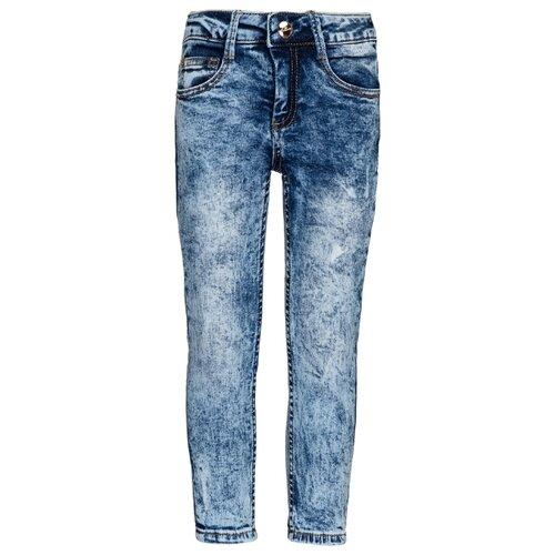Джинсы Gulliver размер 98, синий футболка gulliver размер 98 синий