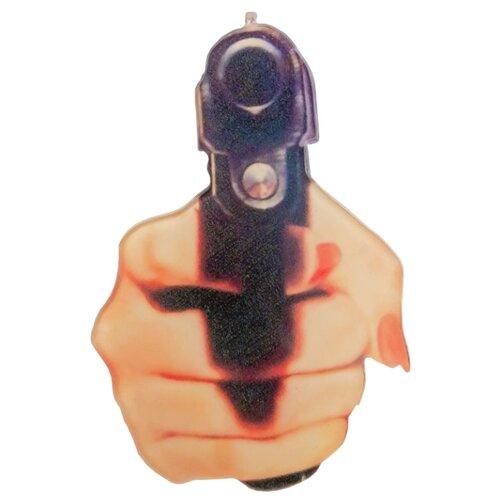 Фото - OTOKODESIGN Брошь Рука с пистолетом 52350 otokodesign брошь жемчуг с цепочкой 50869