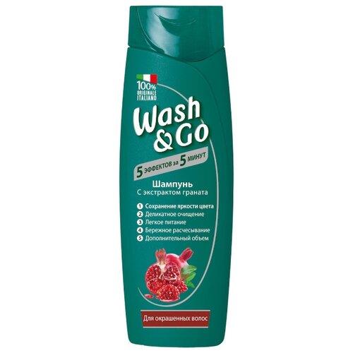 Купить Wash & Go шампунь с экстрактом граната для окрашенных волос, 400 мл