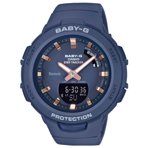 Наручные часы CASIO BSA-B100-2A женские часы casio bsa b100ac 5aer