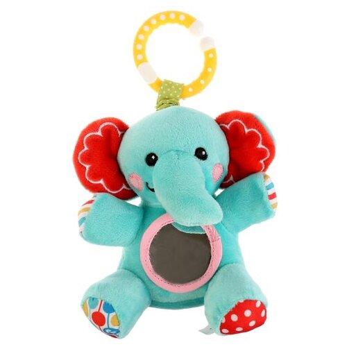 Купить Подвесная игрушка Fisher-Price Слон (GH62731) голубой/красный, Подвески
