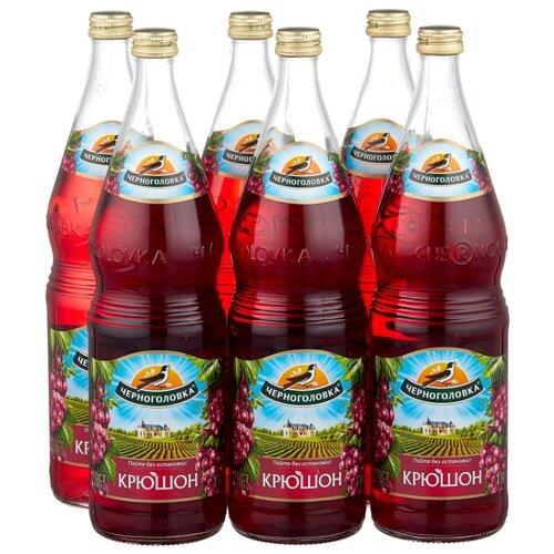 лимонад напитки из черноголовки крюшон 6 шт по 1 л Газированный напиток Черноголовка Крюшон, 1 л, 6 шт.