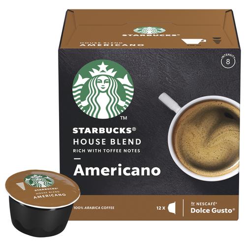 цена на Кофе в капсулах Starbucks Americano (12 капс.)