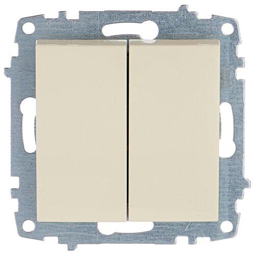 цена на Выключатель 2х1-полюсный ABB Cosmo 619-010300-202,10А, кремовый