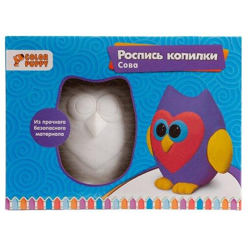 Купить Color Puppy Набор для росписи копилки Сова (95407), Роспись предметов