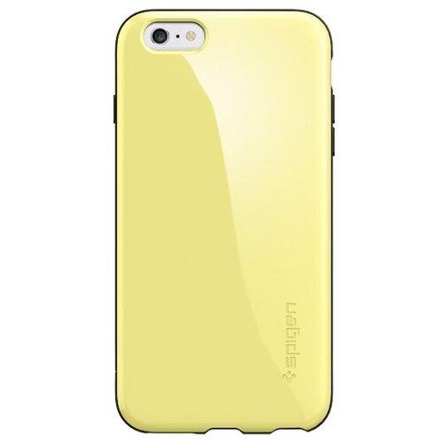 Фото - Чехол-накладка Spigen Capella для Apple iPhone 6 Plus/iPhone 6S Plus lemon yellow чехол накладка bengamins bj6pfcup для apple iphone 6 plus iphone 6s plus cupcake soft foam