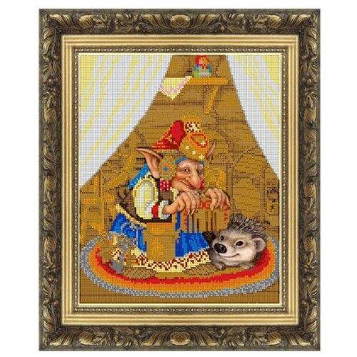 Светлица Набор для вышивания бисером Воструха 30,5 х 25 см, бисер Чехия (429)