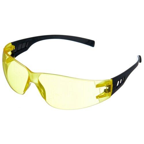 Очки ИСТОК Ультра Лайт черный/желтый маска исток щит003
