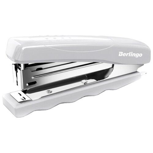 Купить Berlingo Степлер Comfort до 16 листов для скоб №10 серый, Степлеры, скобы, антистеплеры