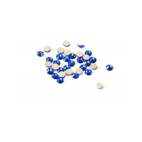 Стразы TNL Professional стеклянные 3 мм темно-синие окрашенные деревянные бусины круглые без свинца темно синие 8x7 мм отверстие 3 мм
