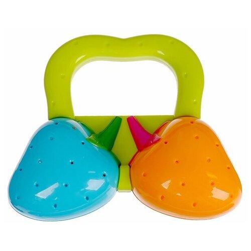 Купить Погремушка Крошка Я Ягодки 2920422 зеленый / голубой / оранжевый, Погремушки и прорезыватели