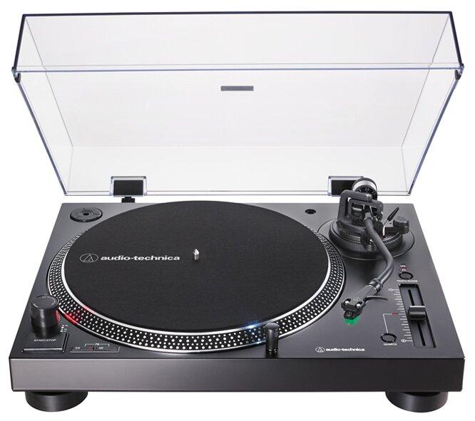 Виниловый проигрыватель Audio-Technica AT-LP120XUSB черный
