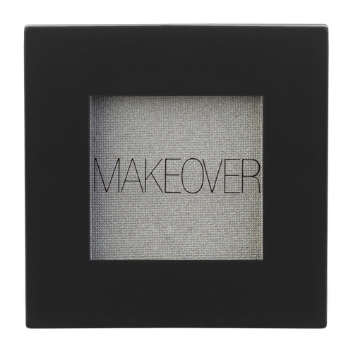 MAKEOVER Тени для век Single Eyeshadow silver shimmer тени для век матовые eyeshadow matt 0 8г 524 dark grey mocha
