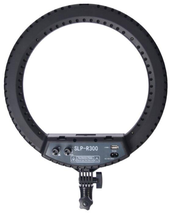 Кольцевой осветитель Okira LED RING 300 (черный)
