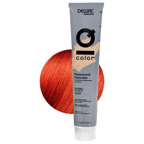 Фото - Dewal Cosmetics Краситель перманентный IQ COLOR, 8.44 Light intense copper blonde, 90 мл dewal перманентный краситель iq color 9 44