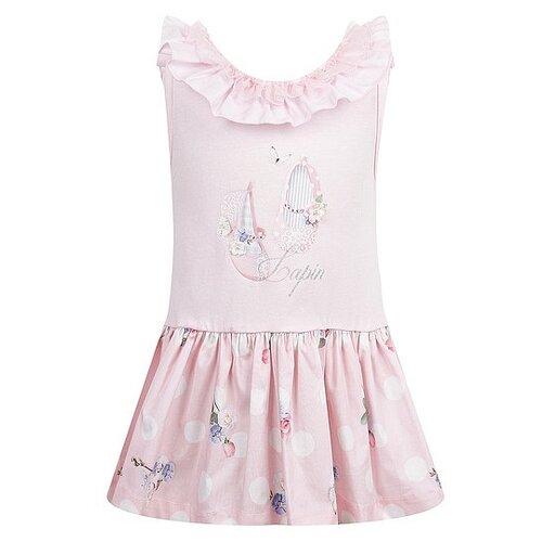 Платье Lapin House размер 98, розовый