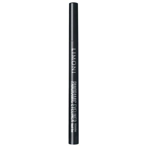 Limoni Подводка-фломастер Panoramic Eyeliner, оттенок 01 black фото