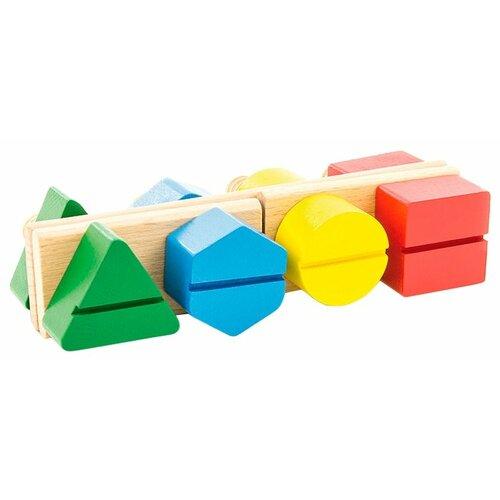 Купить Развивающая игрушка Мир деревянных игрушек Д189 разноцветный, Развитие мелкой моторики